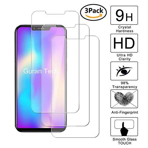 Guran [3 Pezzi] Pellicola Protettiva per Leagoo S9 Smartphone Ultra Sottile Screen Protector in Vetro Temperato Film Ultra Resistente