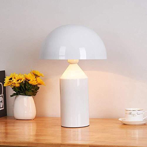 L.W.S Lámpara de Escritorio Hardware Dise?Ador Creativo lámpara de Cabeza de Hongo Sala de Estar/Dormitorio/lámpara de Noche/lámpara de Aprendizaje/lámpara de Mesa de Hongo (Color:Dorado, Tama