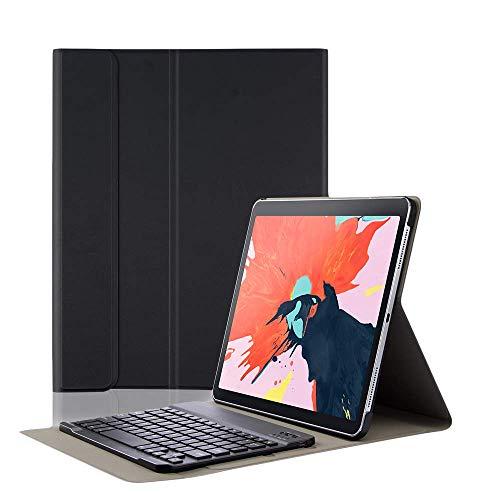 Proslife iPad Tastatur, 2018 Ipad pro 11 Wireless Tastatur Hülle Magnetische Separable Tastatur Ultra Dünnes TPU-Leder