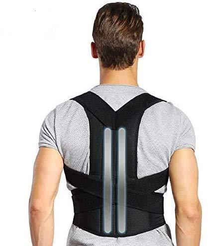 DOACT Corrector Postura Espalda, Faja Lumbar Mujer Hombre, Respaldo Lumbar Faja Espalda, Upright Espalda Para Corregir Postura Espalda, Correctores Enderezar Espalda Apoyo Lumbar Alivio Dolor (XXL)