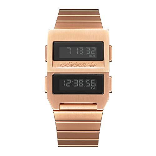 Adidas by Nixon Reloj Digital para Unisex Adulto de con Correa en Acero Inoxidable Z20-897-00