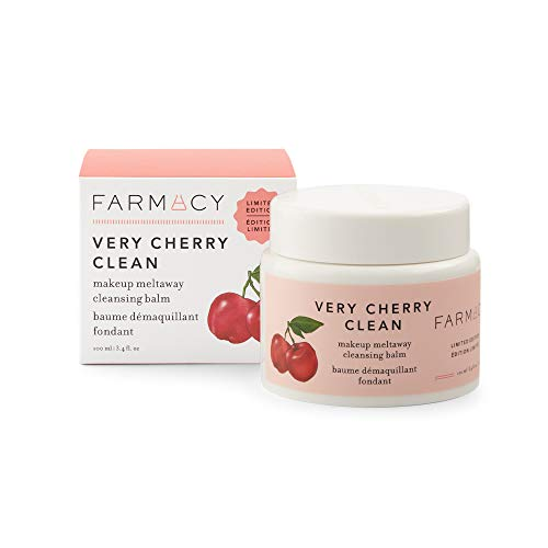 Farmacy Natural Makeup Remover - Very Cherry Clean Makeup Meltaway Cleansing Balm