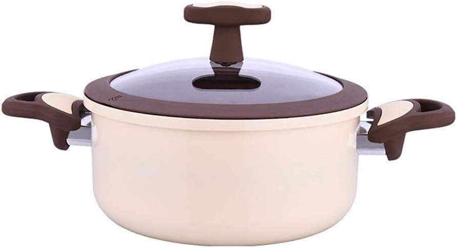 ZZWZM Kitchen Gorgeous Soup mart Pot-Stock Pot and Titanium Nonstick Ceramic C