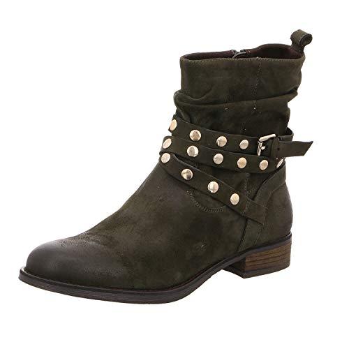 SPM Shoes & Boots 06099419-068 Nevuma Ankle Boot Musk - Vert - Musc., 36 EU
