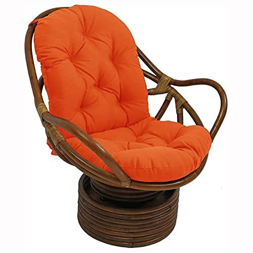 LCYZ Columpio Canasta Colgante Cojín del Asiento Almohadillas,para Silla Hamaca Huevo Colgante espesadas, para sillón Colgante, para el Patio del hogar Jardín