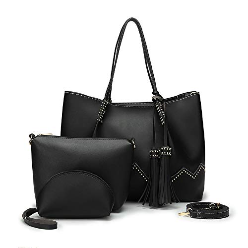 Women'S Bag New Cross-Border Mother And Baby Bag Three-Piece Pu Female Leather Bag