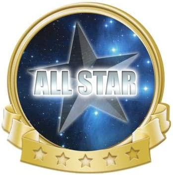 Crown Awards All Star Banner Achievement Pins Pin New item Gold Max 86% OFF