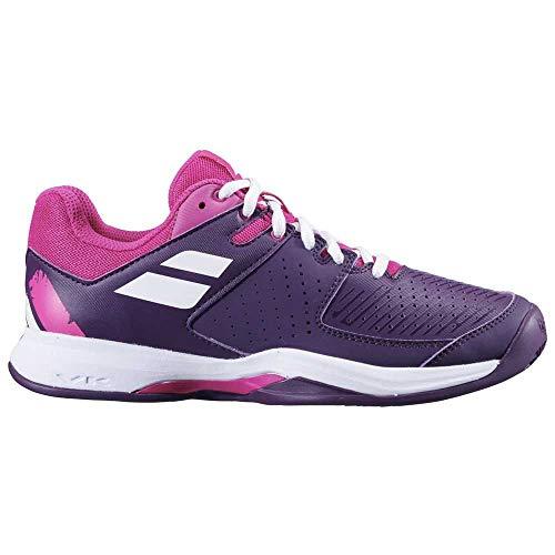 BABOLAT Pulsion Clay Women, Zapatillas de Tenis Mujer, Grape Royale, 38 EU