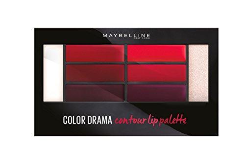 Crimson Vixen - Contouring Palette Lippen Color Drama LIP CONTOUR PALETTE Maybelline presse/pressemitteilungen