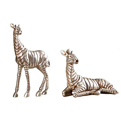 NHLBD Home decoratie/Feng Shui tafel Zebra Styling Ornamenten Sculptuur Woonkamer Slaapkamer Porch Hotel Cafe Decoraties