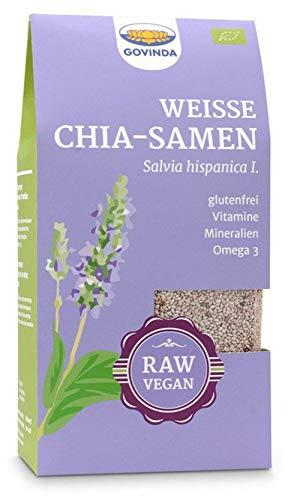 Govinda Bio Chia-Samen weiß (6 x 200 gr)