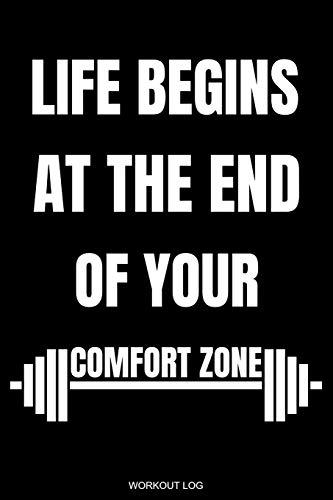 Life Begins: Detailliertes Trainingsplan Buch Geschenk Fitness Trainer Personal zur Motivation Bodybuilding Krafttraining und Cardio für Gym Sport ... Notizen I Größe 6 x 9 I 120 Seiten
