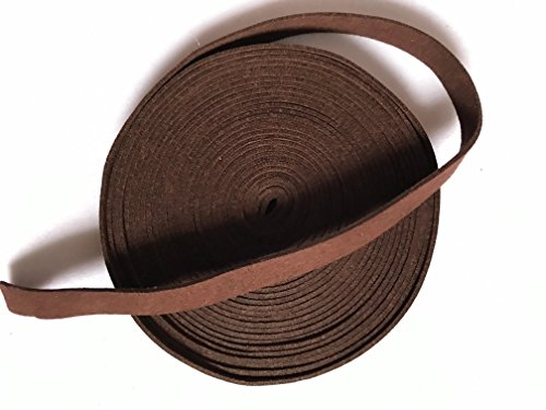 Tsuka Cord Suede Real Leather Ito Sageo for Japanese Samurai Sword Katana (Dark Brown-SRT7, 400CM(157.5IN))