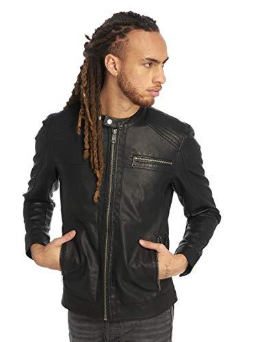 ONLY & SONS Herren onsKONRAD PU Jacket NOOS Jacke, Schwarz (Black), Medium