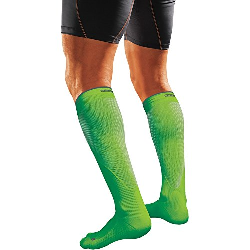 Shock Doctor SVR Recovery Compression Socks Adult Shock Green X Small