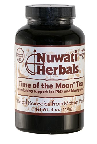 Nuwati Herbals Time of the Moon Herbal Tea Blend - Support for PMS and Menopause Symptoms, 4 ounces