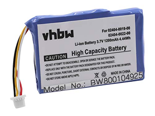 vhbw Akku 1200mAh für Kamera Cisco F460, 3RD Generation, M31120B, M3160, Mino HD, PUDFVM31120B, S1240, U260, U260B, U260W, U260W 4 GB wie LP553450.