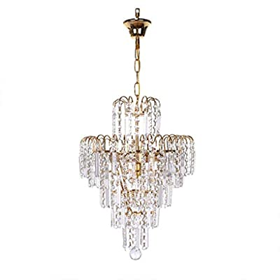 ?2 to 5 Day Delivered? Modern Chandelier, Cryst...