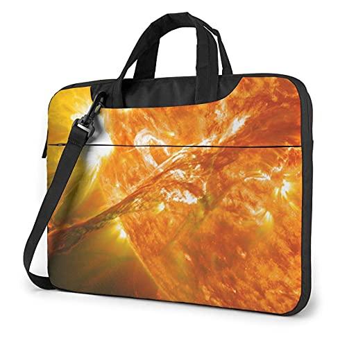Bolso de hombro para portátil Verano Sun Bolsa de ordenador portátil Ordenador Tote Bag Hombro Messenger Maletín 13/14/15.6 pulgadas