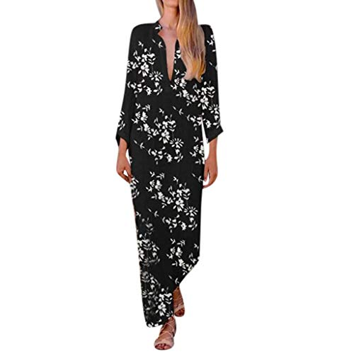 Read About Dress Women Party,Fashion Women V Neck Summer Dress Casual Lady Bohemia Floral Printed Dr...