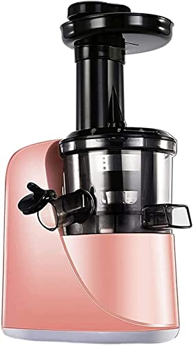 Slow Juicer, Juicer Machines, Slow Juicer Masticating Juicer with 2-Speed Modes, Cold Press Juicer Extractor Easy to Clean, Quiet Motor, Reverse Function, for Fruits and Vegtables ,Juicer Machines Veg