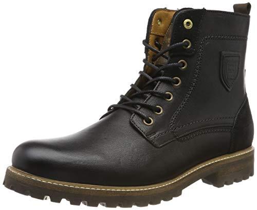 Pantofola d'Oro Herren PONZANO Uomo HIGH Biker Boots, Schwarz (Black .25y), 46 EU