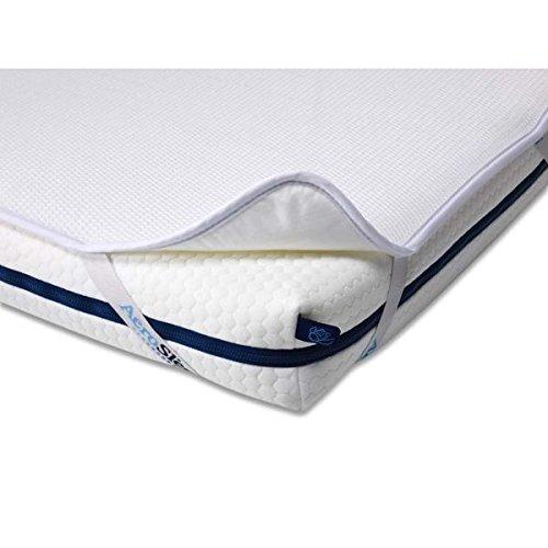 AEROSLEEP - Protège matelas Sleep Safe - Permet à votre enfant de respirer librement - Stucture 3D alvéolée - 75 x 34cm - Blanc