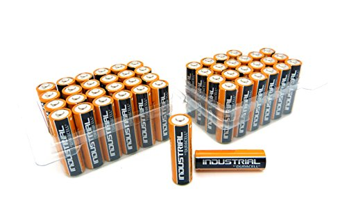 2 x 24 Duracell Industrial Mignon AA Batterien Alkaline 400 MN1500 Sonderpack