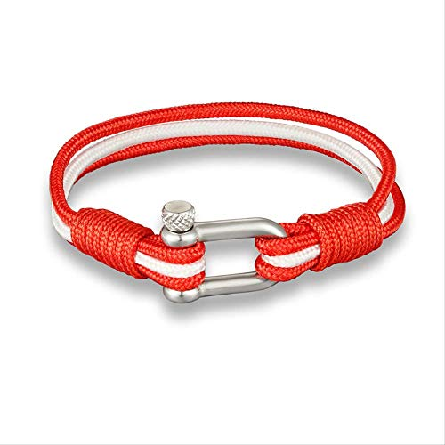 NJSDDB New Sport Camping Parachute Cord Men Women Nautical Survival Rope Chain Bracelet Climing Style Male Jewelry GiftsCanada