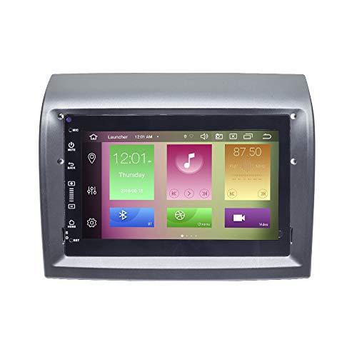 para Fiat Ducato Peugeot Boxer Citroen Jumper 7'Coche GPS DVD Navegación Radio Estéreo 2 DIN Android 10.0 Octa Core 4GB RAM 64GB ROM Soporte Coche Auto Play/TPMS/OBD/4G WiFi/Dab