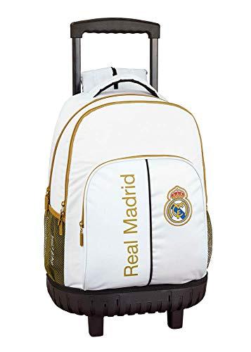 Real Madrid CF niños Equipaje, Blanco, XL