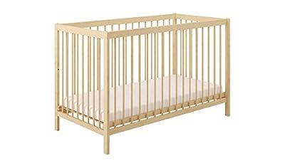 Polini Kids Baby Cama Cuna Cama Infantil simple 101de madera natural lackeirt en diferentes colores