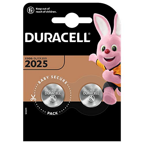 Duracell DL2025/CR2025 - Pilas especiales de botón de litio