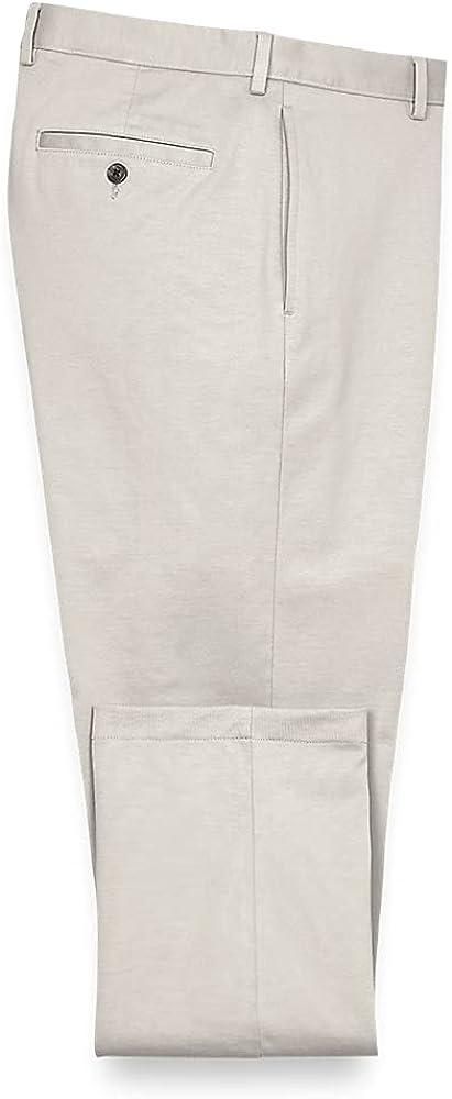 Paul Fredrick Men's Side Pocket Knit Pants, Size 46 X 32