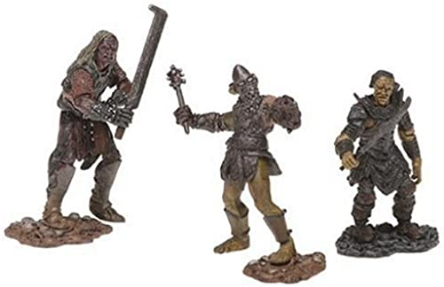 Lord of the Rings Figure 3 Pack  Shagrat Gorbang Mordor Orc by  PA Distribution, Inc.