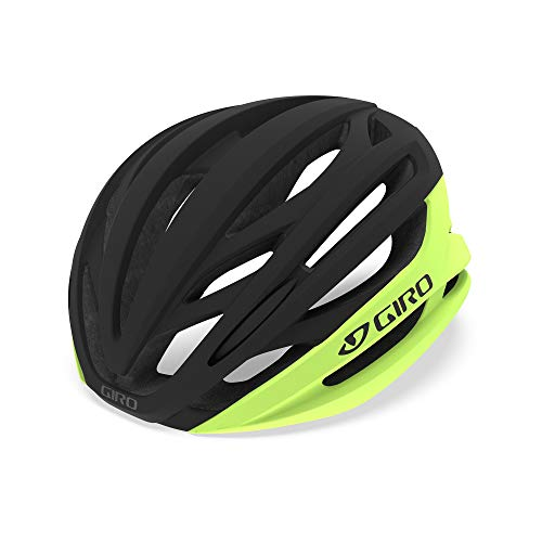 Giro Unisex – Erwachsene Syntax MIPS Fahrradhelm Road, Highlight Yellow/Black, S (51-55cm)
