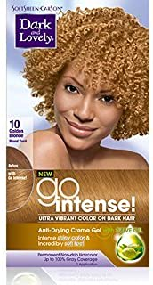 Dark and Lovely Go Intense #10 Golden Blonde ( Pack Of 3 )
