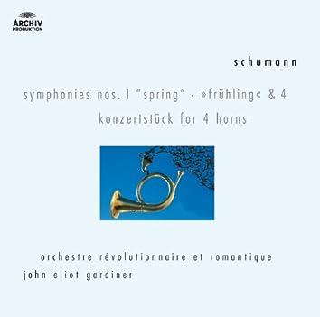 シューマン:交響曲第1・4番