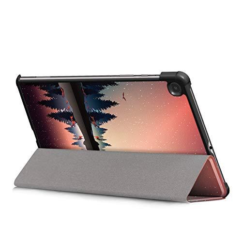 Fway Hülle Case für Samsung Galaxy Tab S6 lite Tablet 10.4 Zoll SM-P610 SM-P615 mit Auto Schlaf/Wach Ständerfunktion