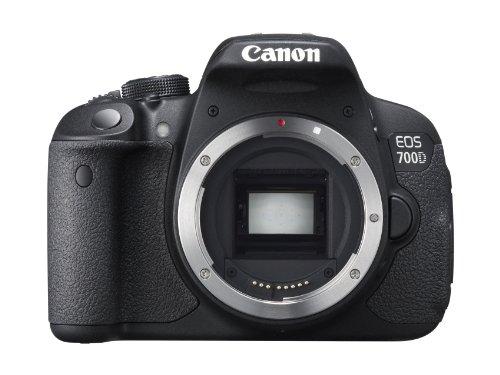 Canon EOS 700D Corpo della fotocamera SLR 18MP CMOS 5184 x 3456Pixel Nero