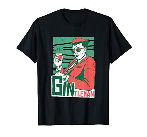 Herren Gintlemen Gentleman | witziger Gin Tonic Spruch | Gin-Lover T-Shirt