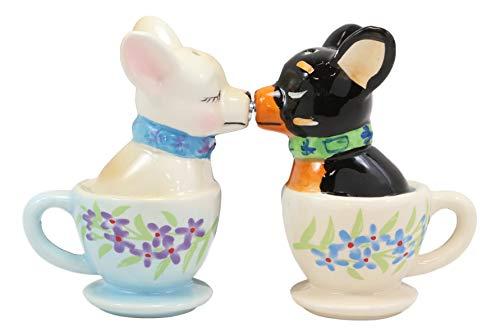 salero ceramica blanco fabricante Ebros Gift