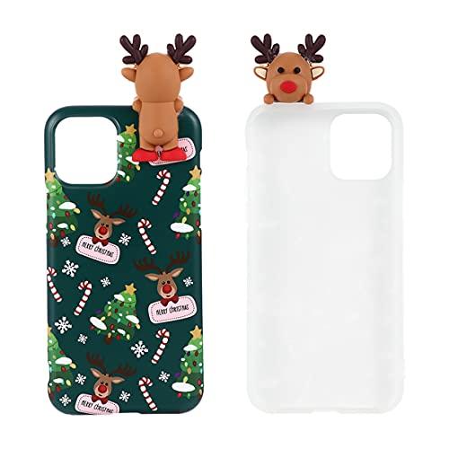 PartyKindom Cassa del Telefono di Natale per 7/8 più Carino ALCI della Copertura di Caso per