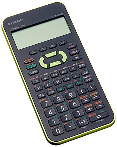 Sharp ELW531XH-GR - Calcolatrice scientifica scolastica (display a 4 rige, 335 funzioni,...