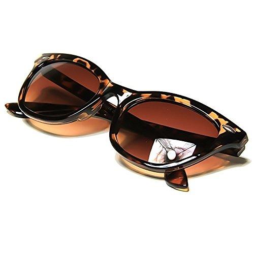 KISS Gafas de sol CAT EYE mod. PIN-UP -cult vintage MUJER fashion rockabilly NIKITA - HAVANA