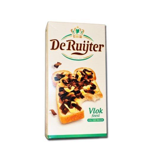 14 X De Ruijter Vlok feest - Schokoflocken gemischt - 300g