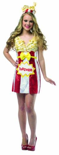 Disfraz de paquete de palomitas para mujer: Amazon.es: Juguetes y ...