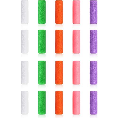 20 Piezas Bandejas de Alineación Seaters Chewies para Masticadores 5 Colores