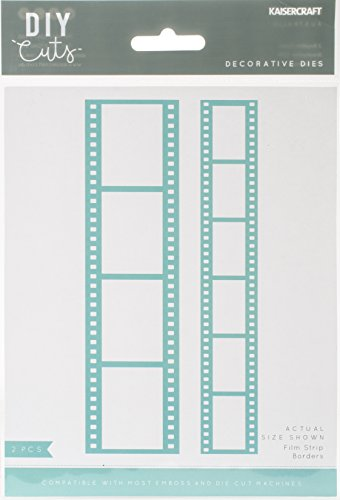 "Kaisercraft Decorative Die-Film Strip Borders 1"" To 5.5"""