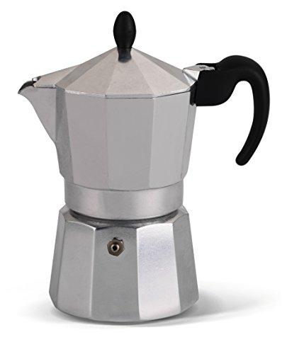 Lagostina Samba Espressokocher aus Aluminium für 6 Tassen